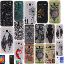 For SAMSUNG GALAXY Pocket 2 Ace 4 Nxt Lite Core Lte Plus Greand Prime Neo Duos phone case soft Gel tpu Painting Crystal cover