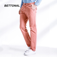 BETTONAL 2017 Spring Autumn Solid Color Top Quality 100% Cotton Cargo Pants Men Army Casual Men's Work Pantalon Trousers 3262