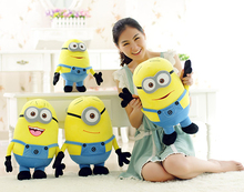32cm minion plush pillow cushion, minion stuffed doll, minion peluche, pelucia minion toy(China)