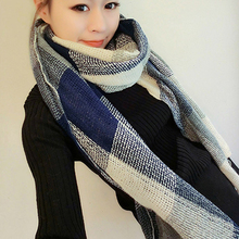 Hot !  Winter Fashion Warm Long Knitting Wool Scarf Wrap Shawl Knitted Scarf Women Winter Scarves