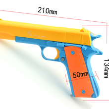 Toys Prop-Pistol Rifle-Gun Working M1911 Bullet2pcs LNL Costume-Toy Slide-Shoot Kid