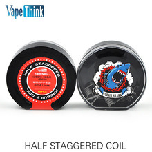Buy Electronic Cigarette Accessories Half Staggered Heating Wire Rebuiltable Core Atomizer Vaporizer RDA RDTA RTA RBA Vape Vapor for $9.99 in AliExpress store