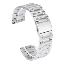 High Quality 23mm Width Stailess Steel Bracelet Strap Watch Band Classic for Fitbit Blaze Smart Fitness Watch CLAUDIA