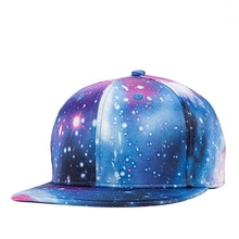 Stars Sky 3D Embroidery Snapback Caps Fashion Hophop Punk Rock Baseball Hats