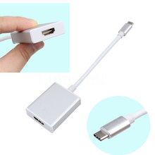 kebidumei UBS 3.1 Type C to HDMI USB 3.0 + USB-C Charging Port HUB OTG Adapter Cable Charger Adapter Aluminum Alloy shell(China)