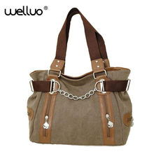 High Quality Big Women Canvas Handbag Shoulder Bags Stylish Casual Women Bag for Travel Lady Crossbody Bag Messenger Bag XA1257B