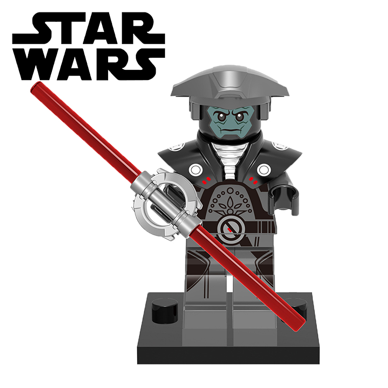 STAR WARS XH399 Imperial Inquisitor Fifth Brother Lightsaber Minifigures Assemble Building Blocks Kids Gift Toys<br><br>Aliexpress