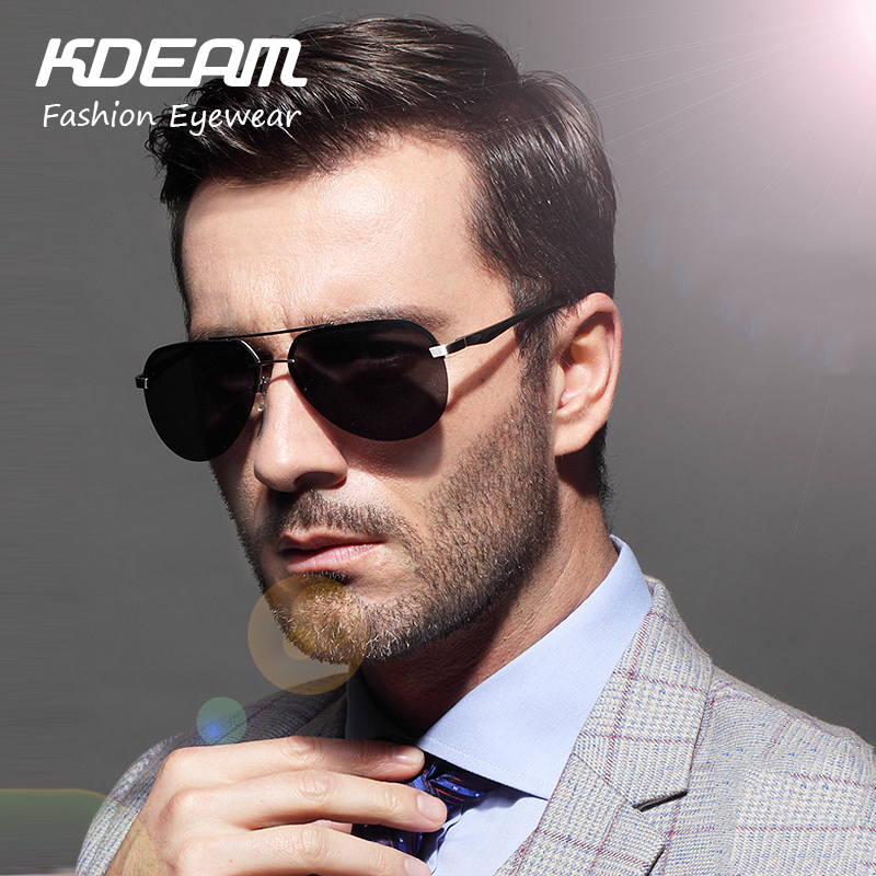 KDEAM 2017 Aluminum Magnesium Mens Sunglasses Polarized Sports Reflective Coating Driving Sun Glasses Eyewear For Men KDA314<br><br>Aliexpress