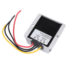 DC 8V~40V to 12V Voltage Regulator 6A 72W Auto Power Step-down Module Converter Boost Buck Module Power Supply Adjustable(China)