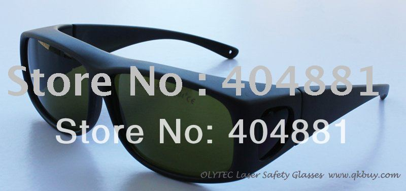 laser safety glasses 190-450nm &amp; 800-2000nm O.D 4 + CE High VLT% for blue laser and 808-810nm, 980nm and 1064nm lasers<br>