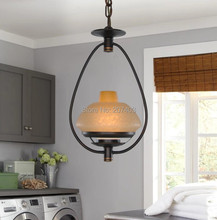 American Bar pendant chandelier European-style garden terrace restaurant chandelier lamp aisle kitchen lamps