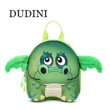 DUDINI New 3D Cute Animal Design Backpack Kids School Bags For Teenage Girls Boys Cartoon Shaped Children Backpacks Big Size