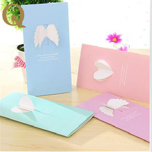 2017 Valentine's Day gift ideas wings love Greeting Card Valentine's Day message to send a message to the goddess free shipping