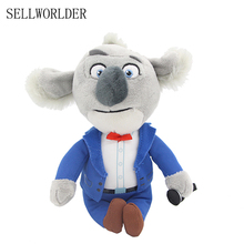 "SELLWORLDER WILD ANIMALS Movie Sing Character Buster Moon 6"" Plush Koala Kawaii Animal Toys(China)"