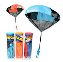 Outdoor Parachute Kids Games Hand Throw Children Outdoor Soldier with a Parachute Educational Toys 38CM For Kids Toys