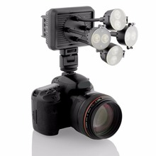 8 LED Video Light 720 lux Illuminator Photography Lights for DV Camcorder DSLR Camera For Canon Sony  Nikon Pentax