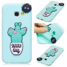 BINUODA New For Samsung Galaxy A5 2017 Case Ulta Slim 3D Cartoon Soft Silicone Back Cover Case for Samsung A5 A3 2017 Released(China)