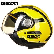 BEON Motorcycle Helmet Chopper 3/4 Open Face Vintage Helmet B21660 Moto Casque Casco motocicleta Capacete helmets