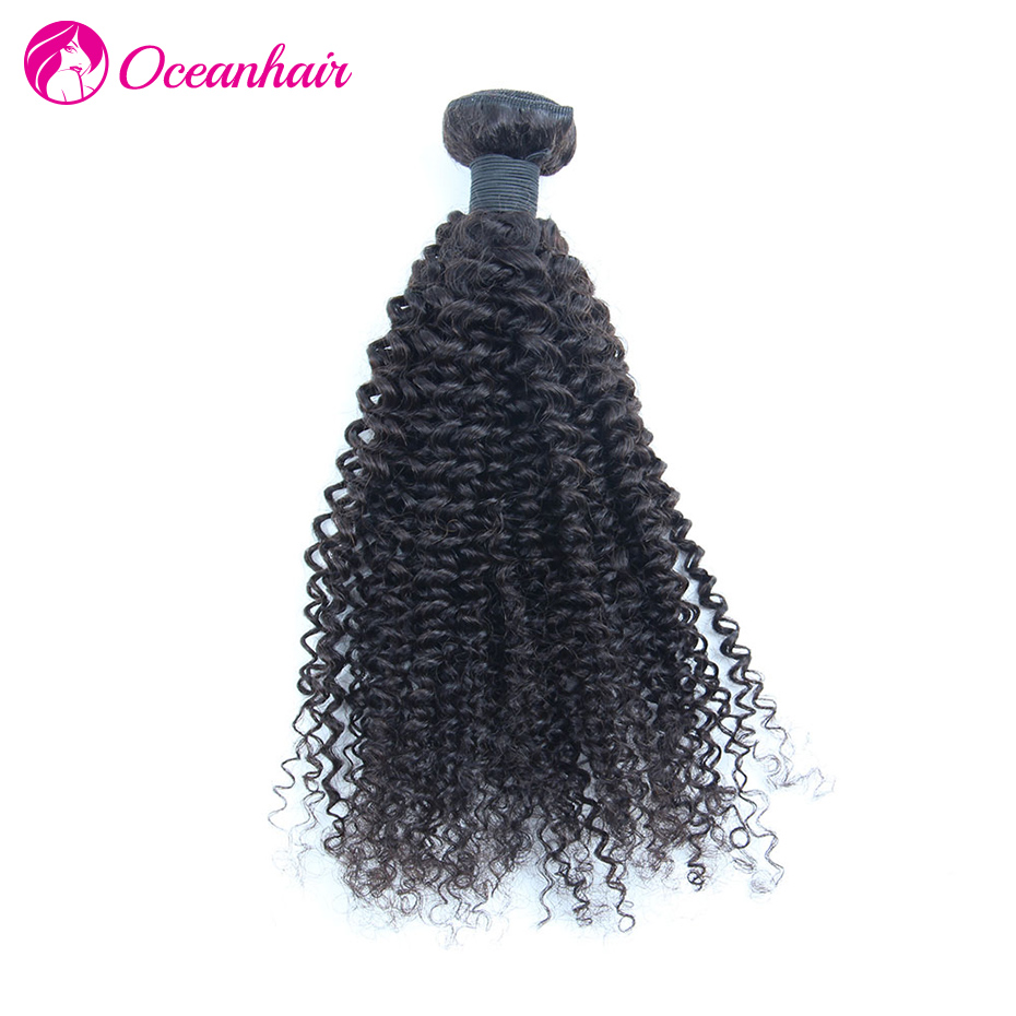 1PC Brazilian Kinky Curly Hair 8-30 Inch Natural Color 1B Unprocessed Brazilian Virgin Kinky Curl Curly Hair Best Quality<br><br>Aliexpress