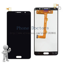 5.5'' Full LCD DIsplay +Touch Screen Digitizer Assembly For Alcatel Pop 4S 5095 5095B 5095I 5095K 5095Y ;Black ;New ;100% Tested