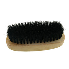 Standard Professional Wooden Handle Shoes Shine Brush Polish Bristle Buffing Brush  Sale -- J2Y