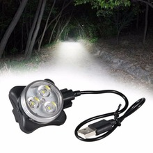 New Portable 300LM Light Mini LED Flashlight Torch Durable Lamp Lights White
