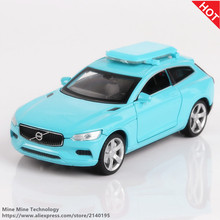 Double Horses 1:32 High Simulation Collection Toys Car Styling Volvo XC Coupe Model Alloy Car Model The Fast and the Furious(China)