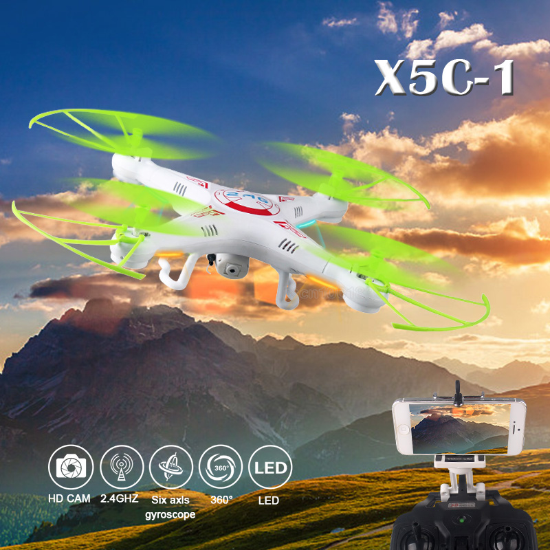 Upgraded version of the X5C-1 HD camcorder FPV 6-axis gyroscope RC helicopter 2.4G high-frequency unmanned aerial vehicles(China (Mainland))