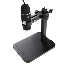 USB Digital Microscope 1000X 8 LED 2MP Endoscope Magnifier Camera with HD CMOS Sensor W/ Lift Stand W/ Calibration Ruler