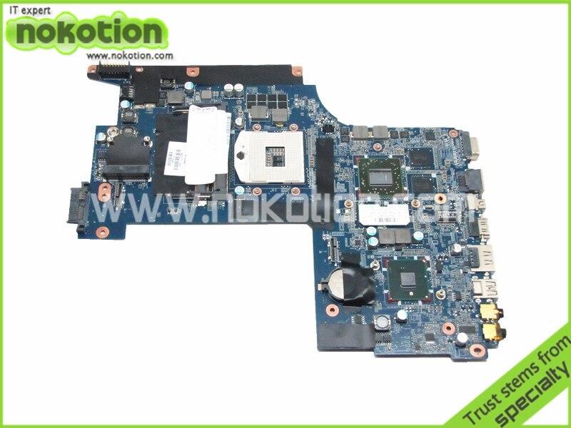 laptop motherboard for hp pavilion envy 17 603771-001 DA0SP8MB6E0 HM55 ATI 216-0769010 DDR3<br><br>Aliexpress