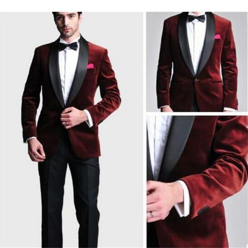 High Quality Velvet Prom Suits Promotion-Shop for High Quality ...