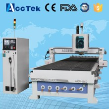 AccTek cnc router 1530 automatic tool change wood carving machine for carving(China)