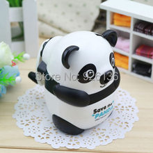 Funny Cute Mini Panda Hand-cranked Pencil Sharpener Great Kid's Gift