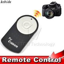 kebidu RC-6 RC6 IR Infrared Wireless Remote Control Shutter Release For Canon EOS DSLR SLR 5D Mark 2 3 5D2/7D 7D2/550D/500D/60D