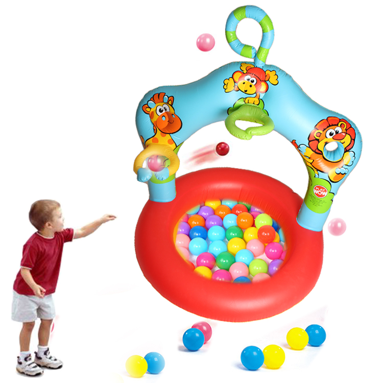Cartoon Inflatable Ball Pool Children Circle Ocean Ball Paddling Pool Baby Pitching Game Toys Bathtub Outdoor Indoor Sport Toys<br>