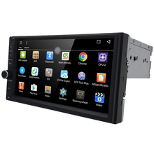 "7"" 2Din Universal Android 6.0 Quad Core 1024*600 Car PC Tablet GPS Navigation Radio Video Audio Player Wifi Car Headunit(No DVD)(China)"