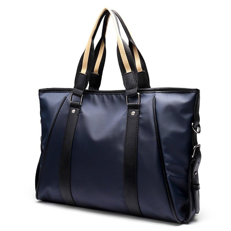2018 Men High Quality Fashion Large Male Bags Shoulder Bag Leather Messenger Bags Computer Laptop Briefcase Travel Bag Package<br>
