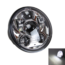 "5 3/4"" LED Round Daymaker Projector Headlight For Moto Sportster XL 1200 883"