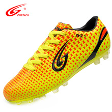 ZHENZU Size 36-44 Scarpe Da Calcio Voetbal Shoes 2016 Soccer Shoes Sport Traning Shoes Soccer Cleats Football Boots for Men(China)