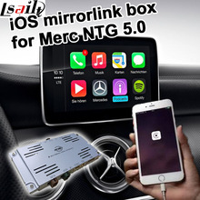 Apple iOS mirror link box for Mercedes benz NTG 5.0 A B C E GLA GLC GLE command & auido20 etc(China)