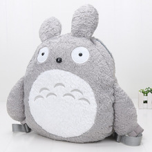 40cm BAG My Neighbor Totoro plush Backpack School Bags Soft Plush Toy Kids Gift(China)