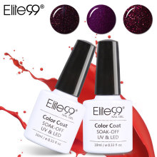 Elite99 Gel Nail Polish 10ml Gorgeous Wine Red Color Nail Gel Polish Vernis Semi Permanent Gel Lak Varnishes Gel polish