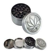 High Quality Metal Stainless Steel Coin Shape Pattern Herbal Herb Tobacco Grinder Smoke Cigar Magnetic