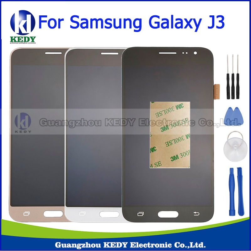 High Copy For Samsung Galaxy J3 J320 J320A J320F J320M LCD Display Touch Screen Digitizer Assembly Replacement Part+Tool<br><br>Aliexpress