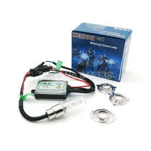 Metal H6 BA20D high low beam hid kit motorcycle xenon HID BI-XENON conversion kit 4300k 5000k 6000k 8000k 10000k xenon headlamps