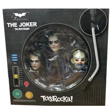 Batman JOKER Q version 27 fixed points eyes, movable eyes PVC edition collection model toys 14cm shiping(China)
