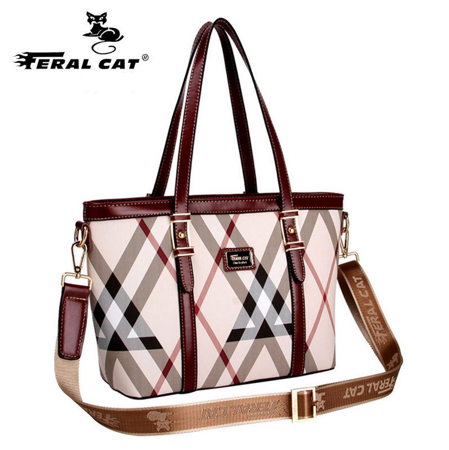 FERAL CAT  pu Leather Women Handbag,  Shoulder Bags Black Totes Top-handle Crossbody Bag For Wife Ladies Mother gift<br>