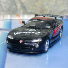 (10pcs/pack) Brand New KT 1/36 Scale Car Model Toys Dodge Viper GTS-R Racing Ver. Diecast Metal Pull Back Car Toy