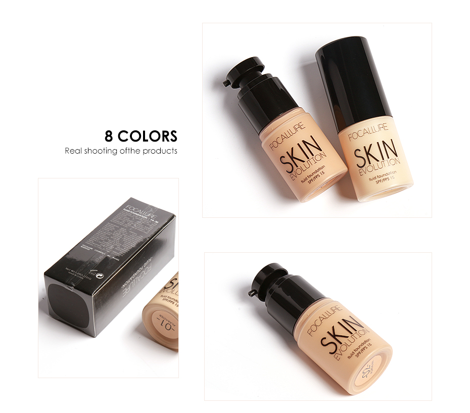 Face Makeup Base Face Liquid Foundation BB Cream Concealer Foundation Primer Easy to Wear Soft Carrying 11