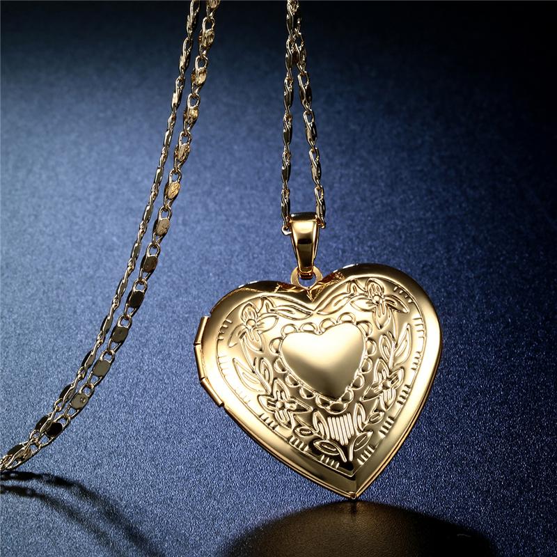 CWEEL Necklaces & Pendants Women Chain Vintage Long Necklace With Big Pendant Gold Color Fashion Statement Necklace  (4)